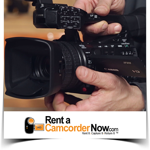 Rent a Camcorder Now