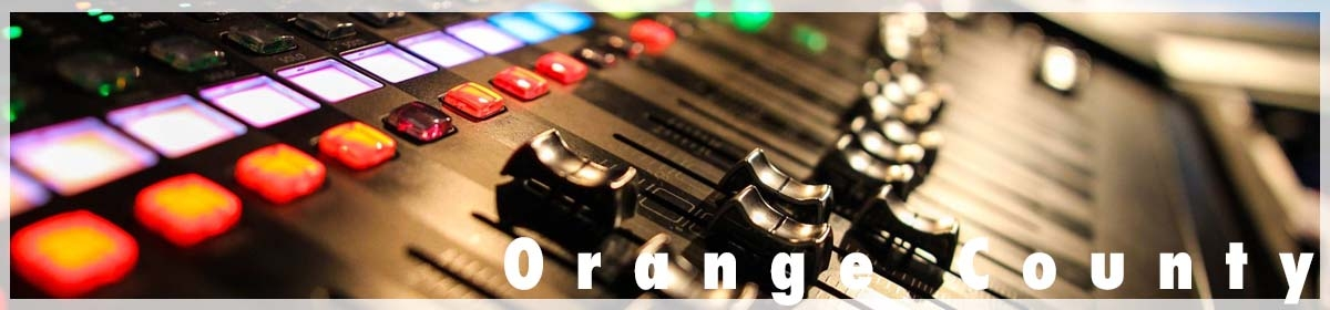 AV Equipment Rentals in Orange County